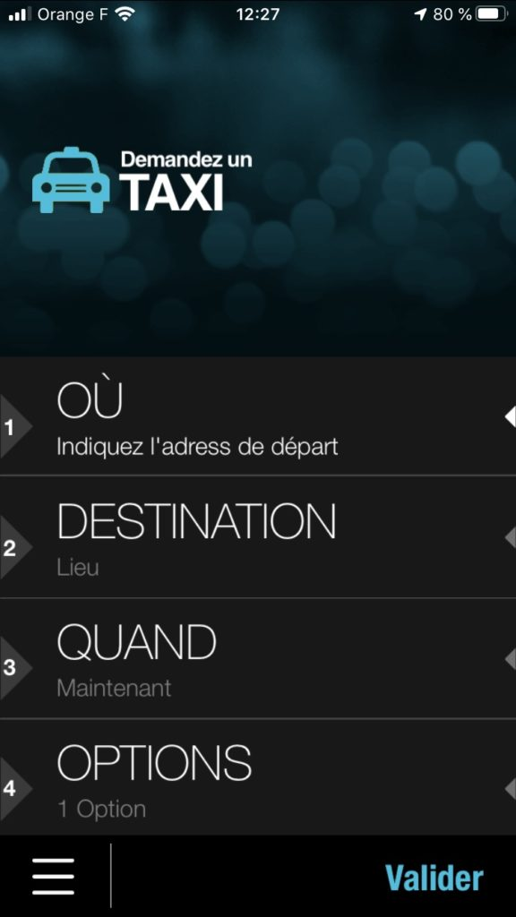 taxi-st-etienne-application